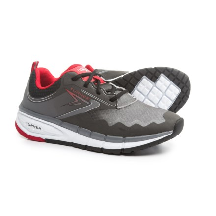 new styles 09ca9 b5410 Turner Footwear T-Legacy Running Shoes (For Men) in Black Grey