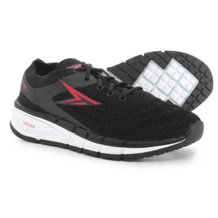 Turner Footwear T-Levon Running Shoes (For Men) in Black/Red - Closeouts