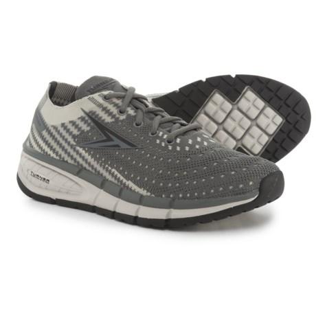 Turner Footwear T-Levon Running Shoes (For Men) in Grey/Charcoal/Black