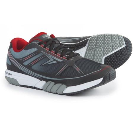 Turner Footwear T-Pump Running Shoes (For Men) in Black/Red/White