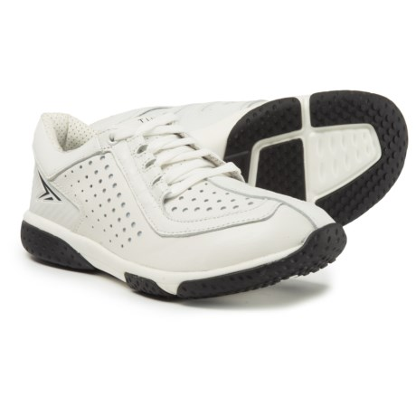 Turner Footwear T-Swolemate Training Shoes - Goat Leather (For Women) in White/Black