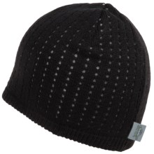 Turtle Fur Aerator Beanie - Merino Wool (For Men and Women) in Black - Closeouts