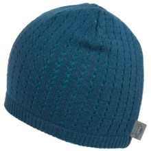 Turtle Fur Aerator Beanie - Merino Wool (For Men and Women) in Kingfisher - Closeouts