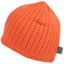 Turtle Fur Aerator Beanie - Merino Wool (For Men and Women) in Tangerine - Closeouts