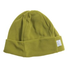 Turtle Fur Fleece Beanie Hat - Micro Fur Fleece (For Women) in Meadow - Closeouts