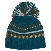 Turtle Fur Nepal Clovis Hat - Wool, Fold-Up Brim (For Women) in Azul - Closeouts