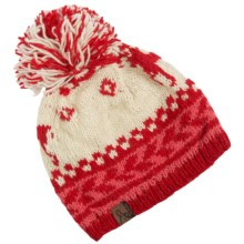 Turtle Fur Nepal Kris Hat - Wool (For Women) in Red - Closeouts