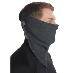 Turtle Fur Stria Necky Bandana Neckwarmer - Polartec® Thermal Pro® Fleece (For Men and Women) in Carbon