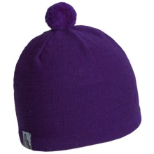 Turtle Fur Unni Beanie Hat - Merino Wool (For Women) in Aubergine - Closeouts