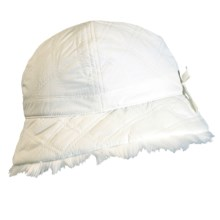 Turtle Fur Vermont Collection Elana Bucket Hat (For Women) in White - Closeouts