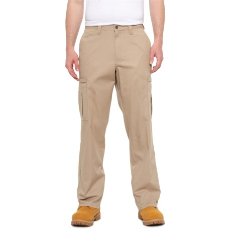Twill Cargo Work Pants (For Men) - DESERT ( )