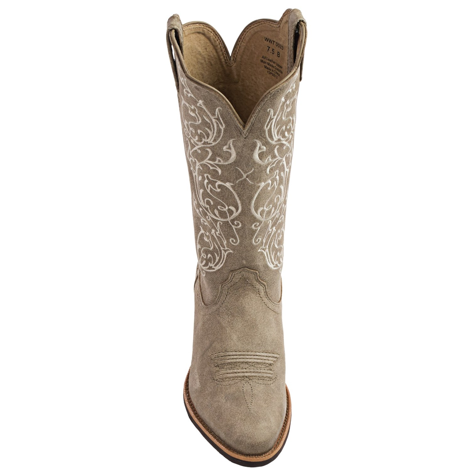 twisted x boots embroidered leather cowboy boots for