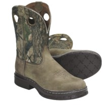 Twisted X Boots EZ Rider BS Toe Cowboy Boots - Steel Toe (For Women) in Camo - Closeouts