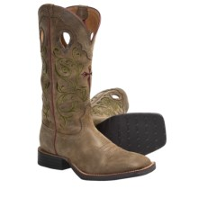Twisted X Boots Ruff Stock Cowboy Boots - NWS-Toe (For Men) in Bomber - Closeouts