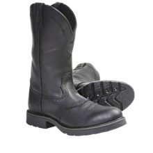 Twisted X Boots Stockman Work Boots (For Men) in Black - Closeouts