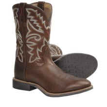 Twisted X Boots Top Hand Cowboy Boots - W-Toe (For Men) in Oiled Brown - Closeouts