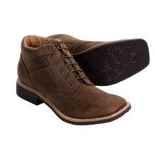 Twisted X Boots Western Shoes - Roper Heel, Square Toe (For Men) in Distressed Saddle - Closeouts