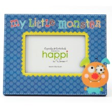 "Two's Company Happi by Dena ""My Little"" Children's Photo Frame - 4x6"" in Monster - Closeouts"