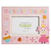 "Two's Company Happi by Dena ""My Little"" Children's Photo Frame - 4x6"" in Princess - Closeouts"