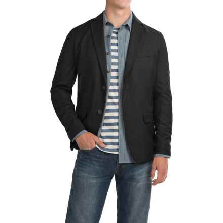 Two-Pocket Casual Jacket (For Men) in Black - 2nds