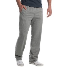 Two-Pocket Drawstring Sweatpants (For Men) in Grey Heather - Closeouts