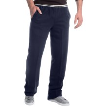 Two-Pocket Drawstring Sweatpants (For Men) in Navy - Closeouts