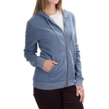 Two-Pocket Zip Hoodie (For Women) in Blue - 2nds