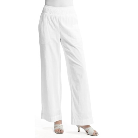 Two Star Dog Adrianne Pants (For Women) in White