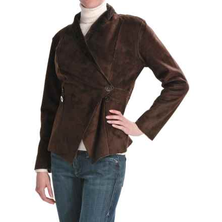 Two Star Dog Courtney Jacket - Faux-Shearling (For Women) in Java - Closeouts