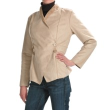 Two Star Dog Courtney Jacket - Faux-Shearling (For Women) in Sesame - Closeouts
