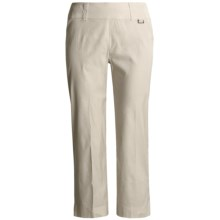 Two Star Dog Elaine Ankle Pants - Stretch Linen (For Women) in Bisque - Closeouts