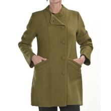 Two Star Dog Hilda Coat - Boiled Wool (For Women) in Avocado - Closeouts