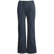 Two Star Dog Julie Convertible Pants - Stretch Cotton Twill (For Women) in Pacific - Closeouts