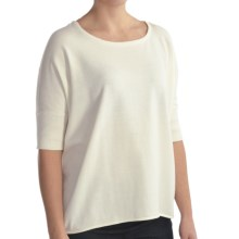 Two Star Dog Justine Sweater - Short Sleeve (For Women) in White Sand - Closeouts