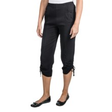 Two Star Dog Lena Capris (For Women) in Black - Closeouts