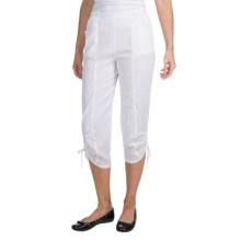 Two Star Dog Lena Capris (For Women) in White - Closeouts