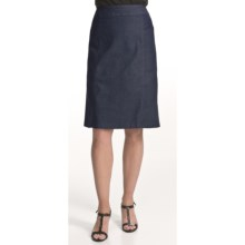 Two Star Dog Liz Pencil Skirt - Polished Denim (For Women) in Dark Denim - Closeouts