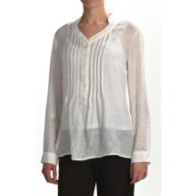 Two Star Dog Lucinda Tunic Shirt with Camisole - Long Sleeve (For Women) in Ivory - Closeouts
