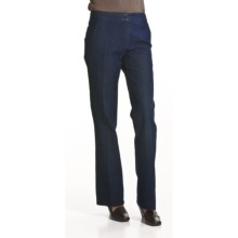 Two Star Dog Marie Pants - Polished Denim (For Women) in Dark Denim - Closeouts