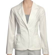 Two Star Dog Meredith Jacket - Stretch Cotton Twill (For Women) in White Sand - Closeouts