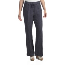 Two Star Dog Milan Convertible Pants - Linen (For Women) in Atlantic - Closeouts