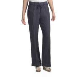 Two Star Dog Milan Convertible Pants - Linen (For Women) in Atlantic