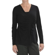 Two Star Dog Moria Shirt - Stretch Jersey, Long Sleeve (For Women) in Black - Closeouts