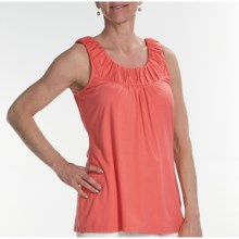 Two Star Dog Naomi Tank Top - Stretch Jersey (For Women) in Sorbet - Closeouts