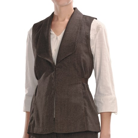 Two Star Dog Norma Herringbone Vest (For Women) in Herringbone