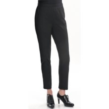 Two Star Dog Ponte Knit Leggings - Zip Back (For Women) in Black - Closeouts
