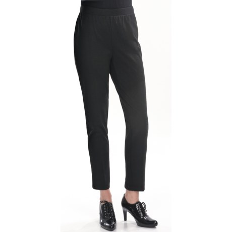 Two Star Dog Ponte Knit Leggings - Zip Back (For Women) in Slate