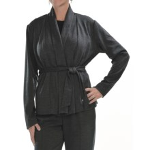 Two Star Dog Rosemary Jacket - Ponte Knit, Removable Belt (For Women) in Slate - Closeouts