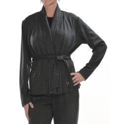 Two Star Dog Rosemary Jacket - Ponte Knit, Removable Belt (For Women) in Slate