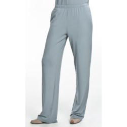 Two Star Dog Stretch Pants - Travel Knit (For Women) in Blue Fog